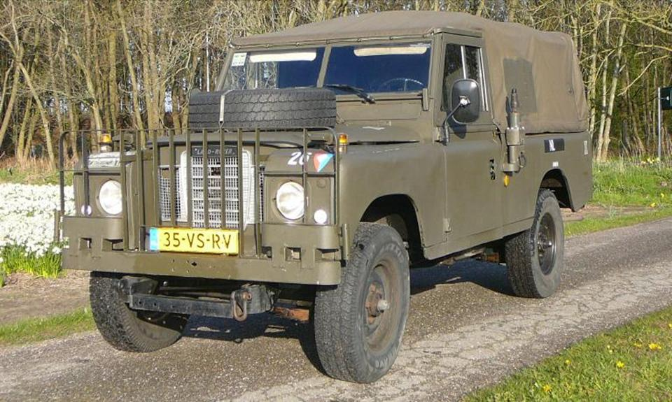 land rover series 3 109 te koop